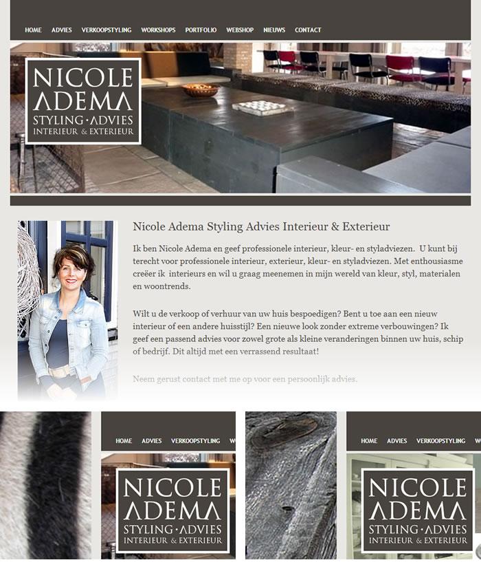 Nicole Adema Styling en Advies - Noord Media Webdesign & WordPress CMS
