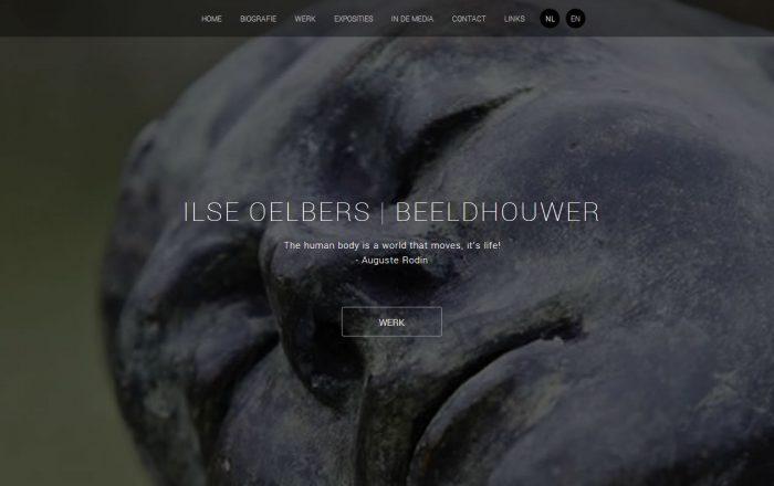 Website Ilse Oelbers homepage
